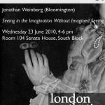 Poster Jonathan Weinberg
