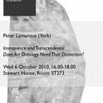 Poster Lamarque