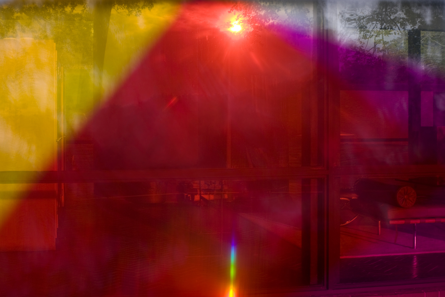 James Welling, Glass House 9818 (2009); imag e © James Welling, courtesy of the artist